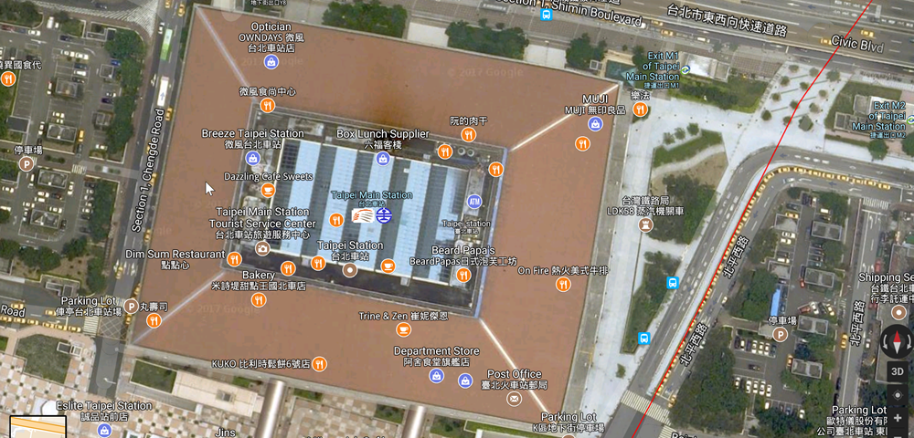 2017-07-12 17_51_28-Taipei Main Station - Google Maps